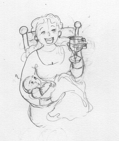 Mamans, bébés et alcool