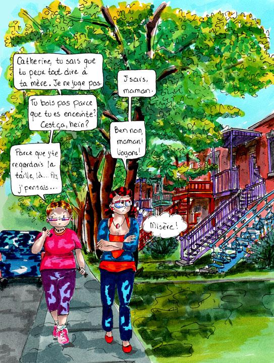 L'intuition maternelle. Danièle Archambault